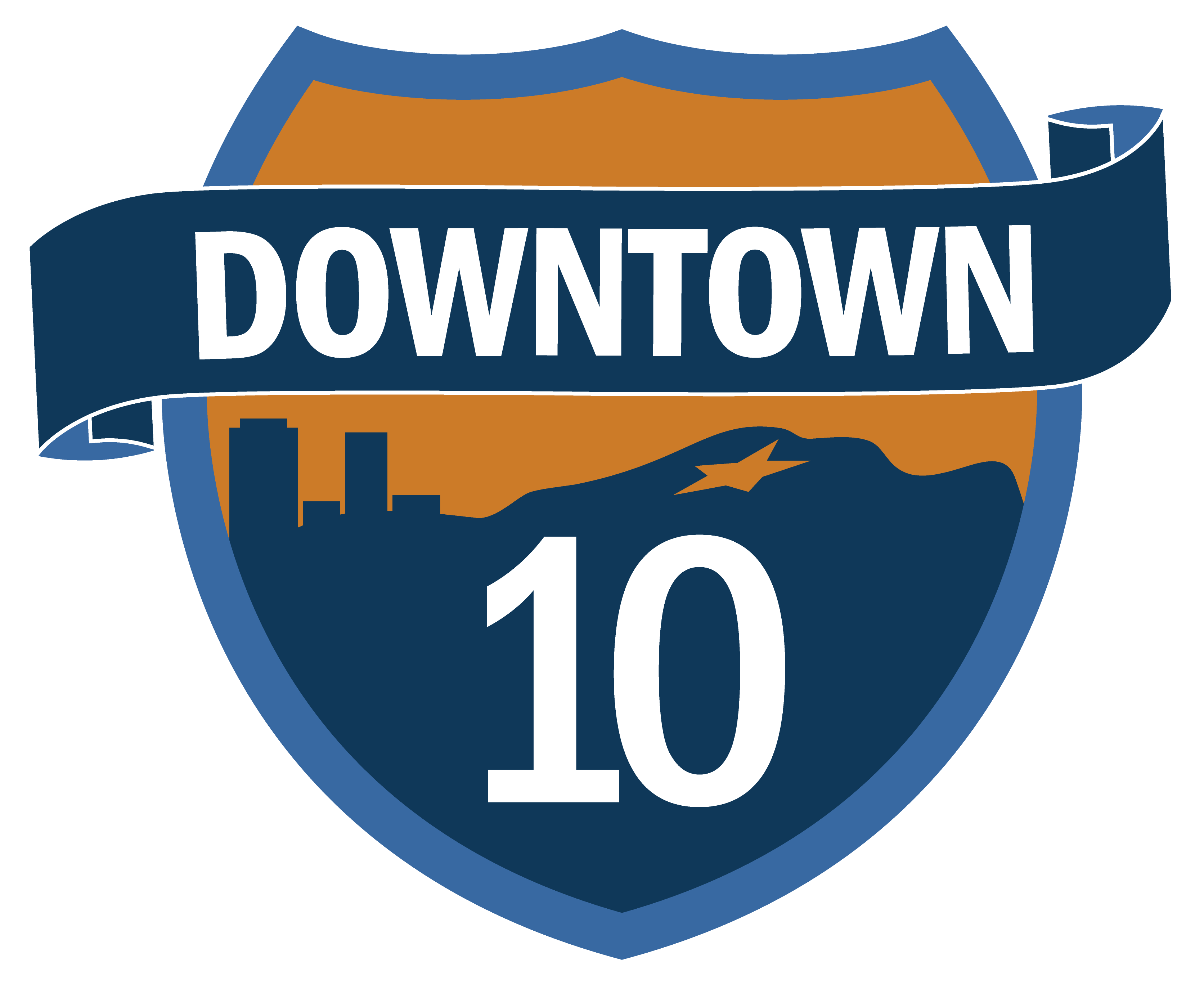 Downtown 10 Project logo